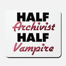 Half Archivist Half Vampire Mousepad
