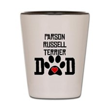 Parson Russell Terrier Dad Shot Glass