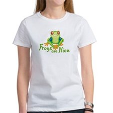 Frogs are Nice Tee