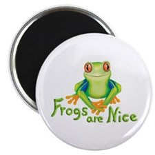 Frogs are Nice Magnet