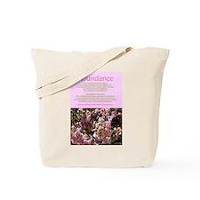 Abundance affirmations Tote Bag
