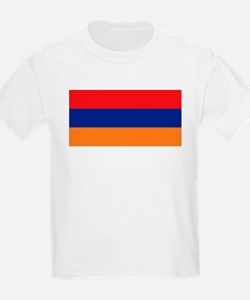 Armenia's flag Kids T-Shirt