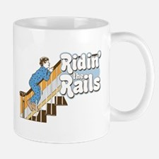 Ridin' the Rails Skater Small Small Mug