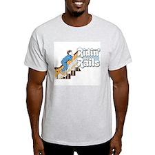 Ridin' the Rails Skater T-Shirt
