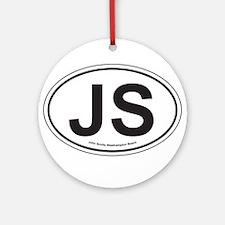 John Scotts Ornament (Round)