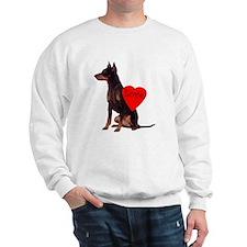 manchester love Sweatshirt