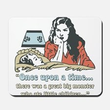Retro Storyteller Parent Mousepad