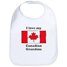 I Love My Canadian Grandma Bib