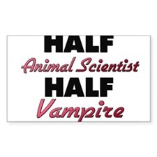 Half Animal Scientist Half Vampire Decal