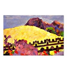 Gauguin - Sacred Mountain Postcards (Package of 8)