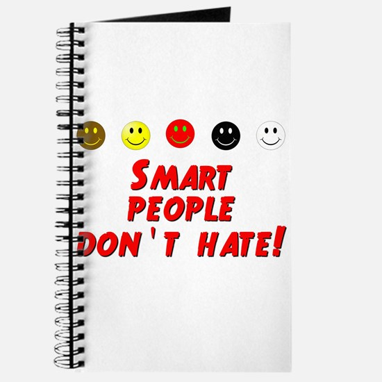 Smart People Dont Hate Journal