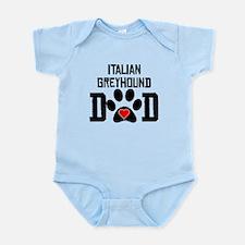 Italian Greyhound Dad Body Suit