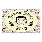Jesus Juice Rectangle Sticker