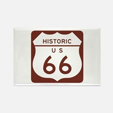Route 66 Historic US Rectangle Magnet