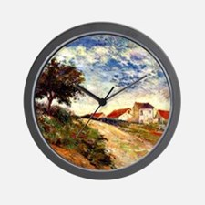 Gauguin: The Road Up, Paul Gauguin land Wall Clock