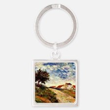 Gauguin: The Road Up, Paul Gauguin Square Keychain