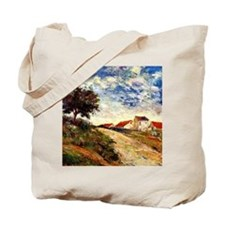 Gauguin: The Road Up, Paul Gauguin landsc Tote Bag