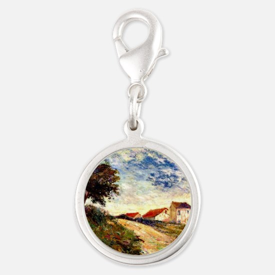 Gauguin: The Road Up, Paul Gau Silver Round Charm