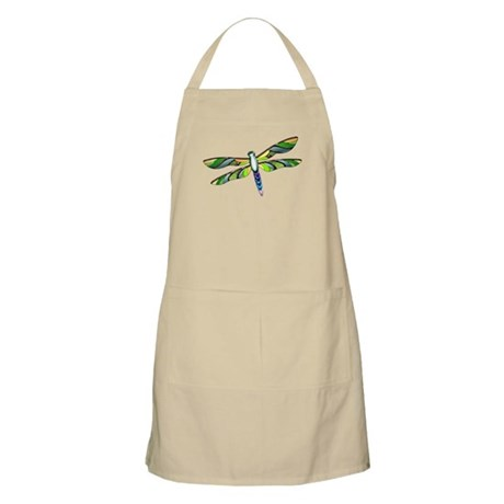 Multicolored Dragonfly Apron