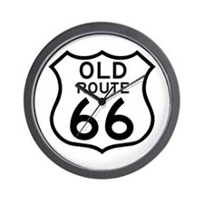 Old Route 66 - USA Wall Clock