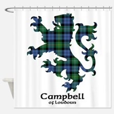 Lion - Campbell of Loudoun Shower Curtain