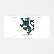 Lion - Campbell of Loudoun Aluminum License Plate