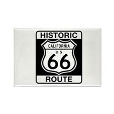 Historic Route 66 - USA Rectangle Magnet