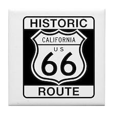 Historic Route 66 - USA Tile Coaster