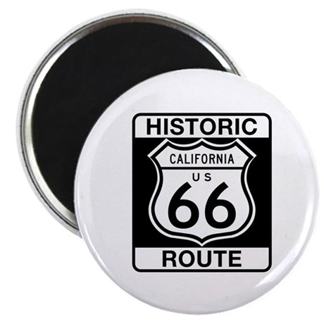 Historic Route 66 - USA Magnet