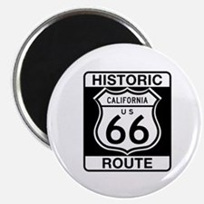 """Historic Route 66 - USA 2.25"""" Magnet (100 pack)"""