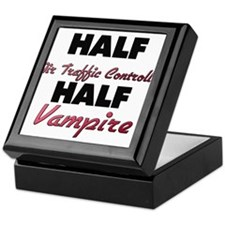 Half Air Traffic Controller Half Vampire Keepsake