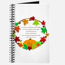 Thanksgiving Wreath Journal
