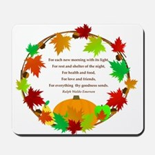 Thanksgiving Wreath Mousepad