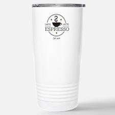 Coffee Saying Stainless Steel Travel Mug