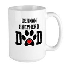 German Shepherd Dad Mugs