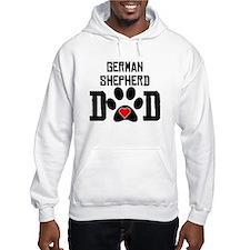 German Shepherd Dad Hoodie