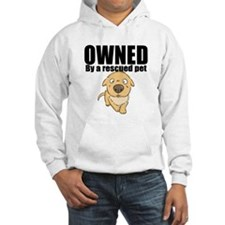 OWNED by a rescued pet Hoodie