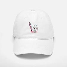 Happy Toothbrush Dentist / Dental Hygienist Baseball Baseball Cap