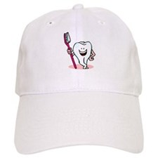 Happy Toothbrush Dentist / Dental Hygienist Baseball Cap