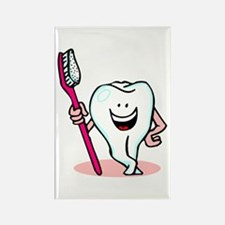 Happy Toothbrush Dentist / Dental Hygienist Rectan
