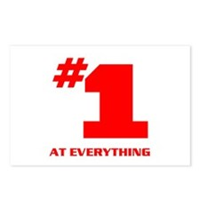 NUMBER ONE Postcards (Package of 8)