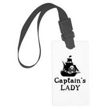 Captains Lady Luggage Tag