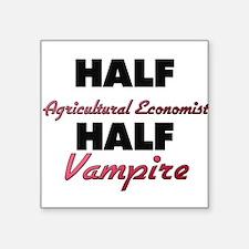 Half Agricultural Economist Half Vampire Sticker