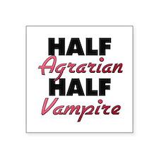 Half Agrarian Half Vampire Sticker