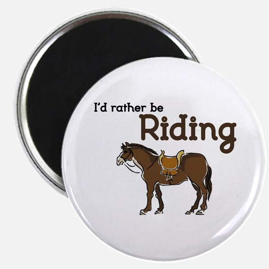 Id rather be Riding Magnets