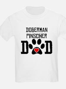 Doberman Pinscher Dad T-Shirt