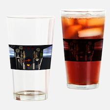 Train Cab Drinking Glass