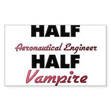 Half Aeronautical Engineer Half Vampire Decal