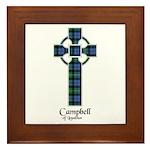 Cross - Campbell of Loudoun Framed Tile