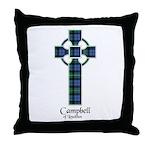 Cross - Campbell of Loudoun Throw Pillow